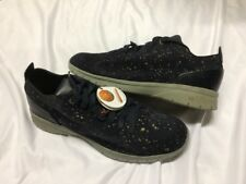 FEIT MEN's MID Galaxy BIO TRAINER SNEAKERS Boot Size 44 Hand made designer shoe