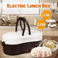 2.6L Electric Heated Lunch Box Car Plug Heating Food Storage Warmer