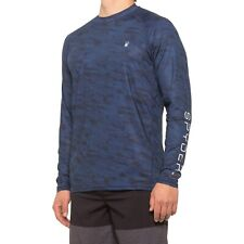 Men's Spyder Vintage Jersey Crew Top S/s Tee T Shirt Grey Heather Size L