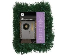 GE 18' Garland with 50 Random Sparkle Lights Christmas Decor