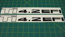 Nissan Patrol Datsun Safari TI 4.2 decal set stickers graphics restoration EFI