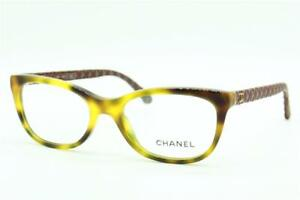 NEW CHANEL CH 3288-Q C.1295 HAVANA BROWN AUTHENTIC EYEGLASSES CH3288-Q 49-17