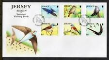 JERSEY FDC - 2011 Summer Visiting Birds