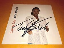 TERRY STEELE (grammy winner) SIGNED cd DAY BY DAY patti labelle duet june kuramo