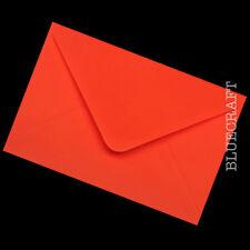 Pilar Caja Rojo 160mm X 160mm Cáscara//sello 120gsm sobres cuadrados de color