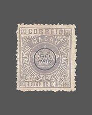 Vintage:Macau-Portugal 1884 Og Lh Scott #16 $90 Lot #1884X97