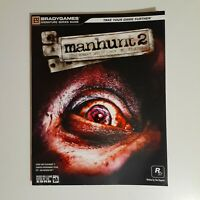 Manhunt 2 (Playstation 2 PS2,PSP,Nintendo Wii) Bradygames Strategy Guide