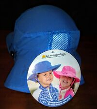 Sun Protection Zone Brand Nwt Blue Child Safari Hat for Boys - Upf 50+ Uv Block