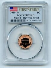 2019 W 1C Lincoln Cent Reverse Proof PCGS PR69 First Strike