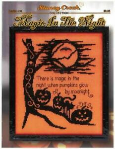 Magic In The Night by Stoney Creek LFT416 Cross Stitch booklet