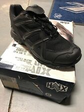 New- Haix 300004 Black Eagle Athletic 11 Low Shoes-size 8.5