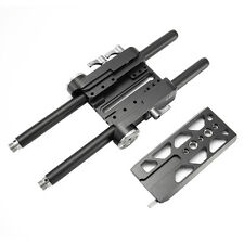 JTZ DP30 Universal QR Baseplate 15mm Rod for Follow Focus Mattebox Camera Rig