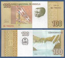 Angola 100 Kwanzas 2012 (2017) New sign. UNC p.153 B