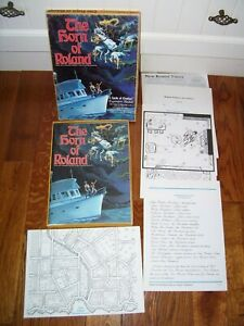 THE HORN OF ROLAND-Lords of Creation Adventure-1984, Expansion Module- Scarce