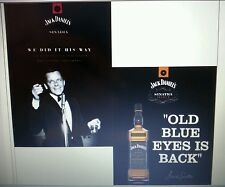 Jack daniels/Sinatra postcards 5 by 7 doubled sided  set of 5