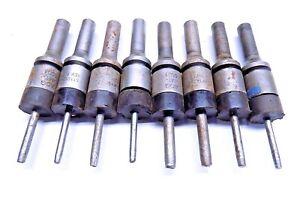 8 Pc Hi Lok Rubber Guard Rivet Punch Set Lot  Aircraft Tools
