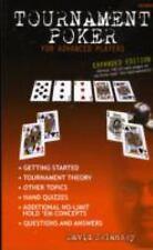 Tournament Poker for Advanced Players by David Sklansky (2007, Paperback)