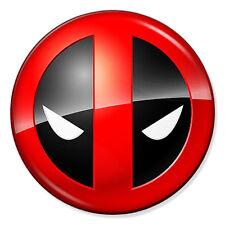 "DEADPOOL - 25mm 1"" Pin Badge Button - Marvel Comics COOL LOGO"
