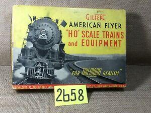 Vintage AC Gilbert HO American Flyer - Reading Caboose #131  Illuminated OB