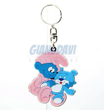 PUFFO PUFFI SMURF SMURFS STATIONERY Keyrings 50855 Baby con Orso