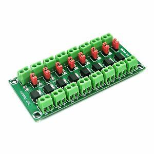 PC817, 8 channel opto-isolator breakout for Arduino optoisolator optocoupler ST