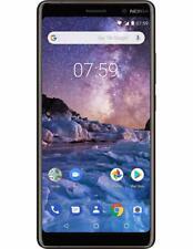 "Nokia 7 Plus 6"" 13MP 64GB unlocked Smart phone - Black / Copper"