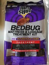 Lots of 4 Hot Shot Mattress and Luggage Treatment Bed Bug Killer
