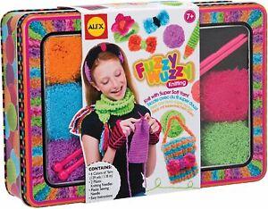 Fuzzy Wuzzy Knitting - Alex - Childrens Arts & Crafts Yarn Set