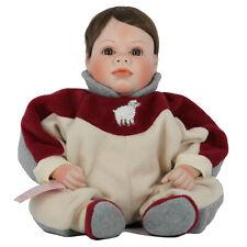 """Little Lamb Porcelain Baby Doll 21"""" Lee Middleton LE"""