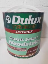 Dulux Trade Exterior ICI Classic Select Woodstain - Rich Mahogany - Oil Based