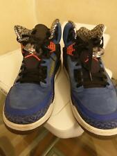premium selection 89d0a a3147 Nike Air Jordan Spizike Knicks Blue Ribbon Orange-Black 315371 405 11