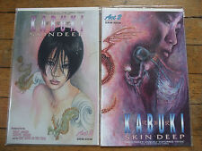 KABUKI Skin Deep Act 1 and 2 by David Mack Caliber Comics Variant Cover 1997