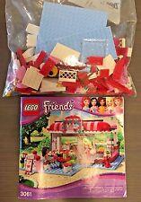 LEGO Friends Park Café (3061) [MISSING 11 PIECES]