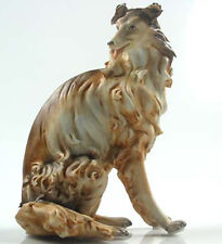 Collie Figur Hundefigur hund porzellanfigur porzellan hütehund