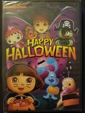 Nickelodeon Happy Halloween (DVD, 2010) Dora, Blue's Clues, Yo Gabba! SEALED OOP