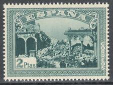 Sellos de España del período de la Guerra Civil bloque