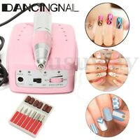 30000RPM Electric Nail Art Manicure Drill File Machine Bits Manicure Set 20WP