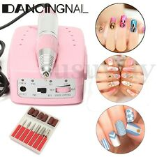 30000RPM 6 Bits Electric Nail Art Manicure Drill File Machine Bit Manicure Set