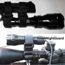 Rifle Scope Clamp Mount for SureFire Streamlight Nitecore XTAR Flashlight