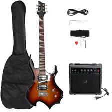 E-Gitarre Set Elektrogitarre E Gitarre Kabel 20W VerstÄrker mit Tragetasche