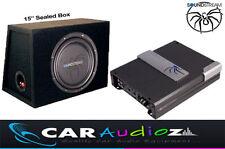 "Soundstream Qualität Paket 15 "" Subwoofer OVP Dose Verstärker ANGEBOT Autoradio"