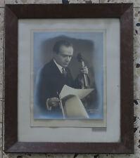 Violinist Bronislaw Huberman Large Photo Jewish Photographer Boris Lipnitzki 30'