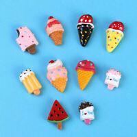 10x Magnete schöne Magneten Kühlschrank Büro Pinnwand Magnet Eiscreme Dessert