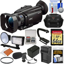 Sony Handycam FDR-AX700 4K HD Wi-Fi Video Camera Camcorder Kit