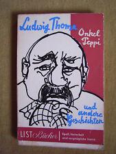 """""""Onkel Peppi und andere Erzählungen"""" von Ludwig Thoma"""