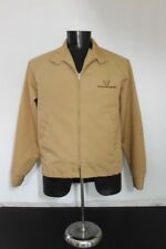 Vintage Swingster Formula Thunderbird Boat Jacket Coat Size L Tan Brown