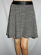 """""""DIVIDED by H & M"""" - Great PreOwned - Size L - """"BLACK/WHITE"""" Flared A Line Skirt"""