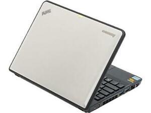 "Lenovo ThinkPad X130e  laptop 11.6"" Celeron 857 4GBRAM 500GBHDD Win10 White"