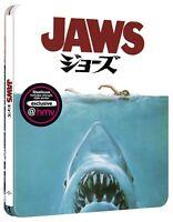 Jaws 4K UHD Steelbook Japanese Artwork Limited Edition HMV UK Exclusive