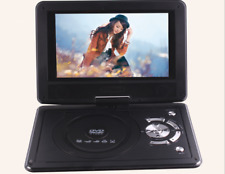 """9.8"""" DVD Player Portable Swivel, 300LCD Game, Video, Photo, USB SD, In Car"""
